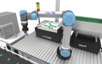 Detailide söötmine ja haaramine robotiga